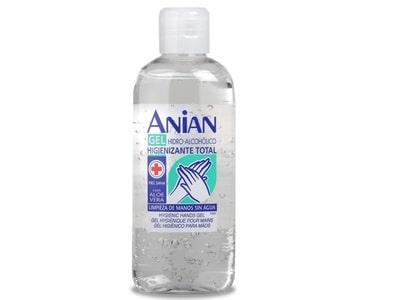 Finclub ANIAN Čistiaci gél na ruky s Aloe Vera 150 ml