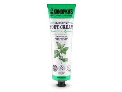 Dr. Konopka krém na nohy - deodorant 75ml