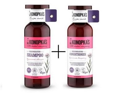 Dr. Konopka regeneračný šampón + kondicionér 500ml