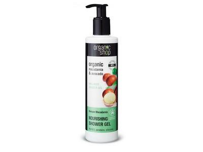 Organic Shop Sprchový gél Keňská Makadámia 280ml