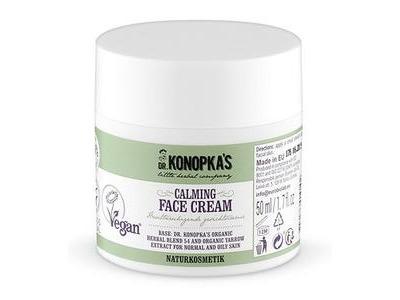 Dr. Konopka prírodný upokojujúci krém na tvár - Rebríček 50ml