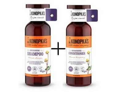 Dr. Konopka výživný šampón + kondicionér 500ml