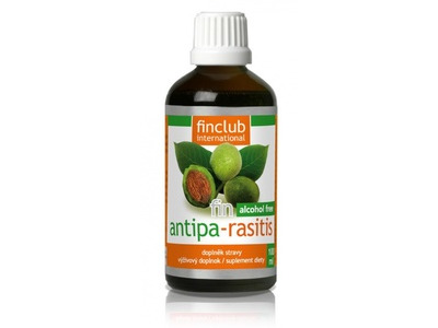 Finclub fin Antipa rasitis alcohol free 100 ml