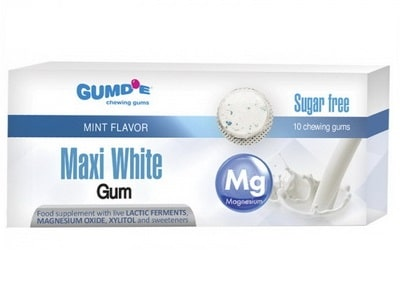 Finclub Gum Maxi White žuvačky 10ks