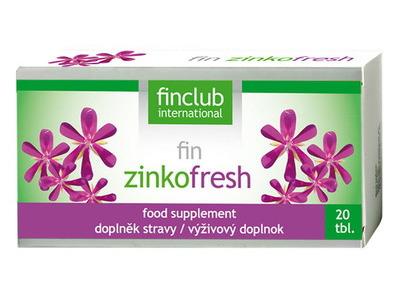 Finclub Fin Zinkofresh 20 tbl
