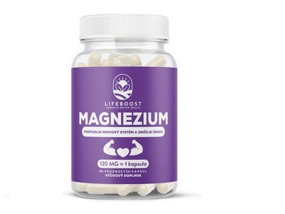 Lifeboost Magnézium 90kapsúl