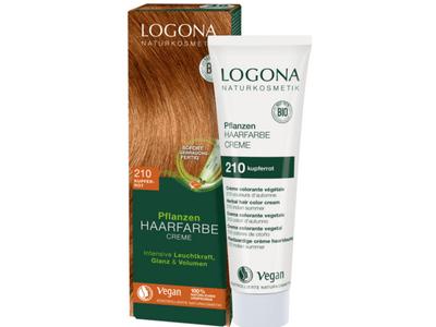 LOGONA Krémová farba na vlasy - medená červená 150 ml