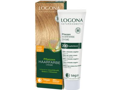 LOGONA Krémová farba na vlasy - medená blond 150 ml
