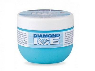 Masážny gél Diamond Ice 2,5% s Aloe Vera 236g