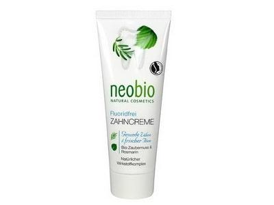 Neobio Zubná pasta bez fluoridu 75 ml