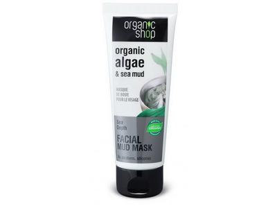 Organic Shop Bahenná maska na tvár 75ml