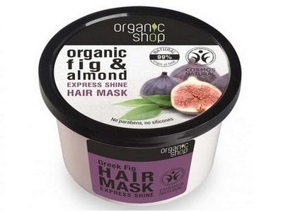 Organic Shop maska na vlasy - Figa a Mandľa 250 ml