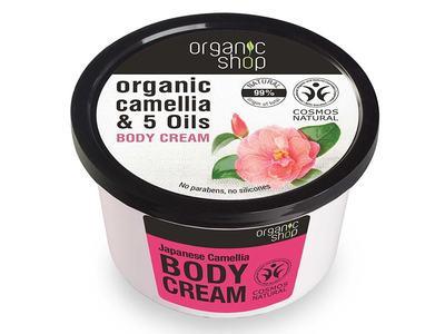 Organic Shop Telový krém Japanese Camellia 250ml
