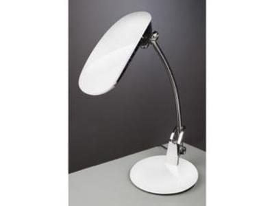 Stolná lampa Ayako NASLI, biela, 7W, LED