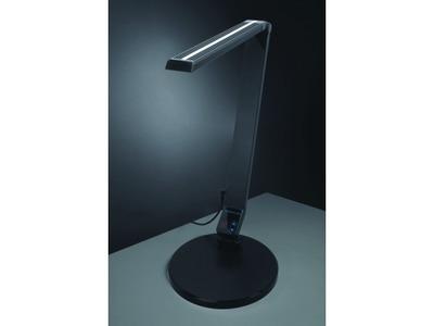 Stolná lampa Carmen NASLI, čierna, 9 W, LED