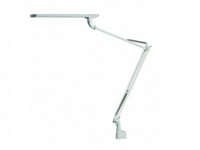 Stolná LED lampa NASLI Tamie 12W, úchyt, biela