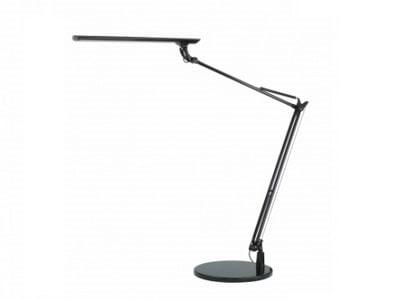 Stolná LED lampa NASLI Tamie 12W, podstavec, čierna